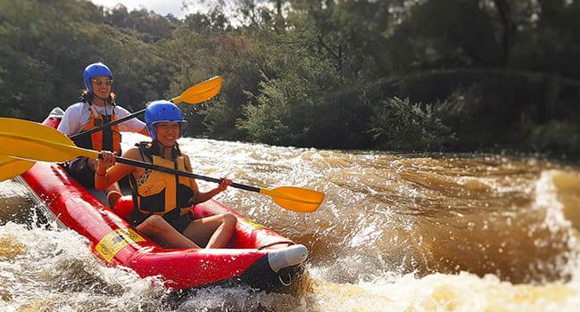 Under $100- White water rafting, Yarra River
