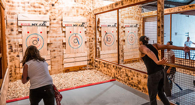 Under $100- Axe throwing for 2, Sydney