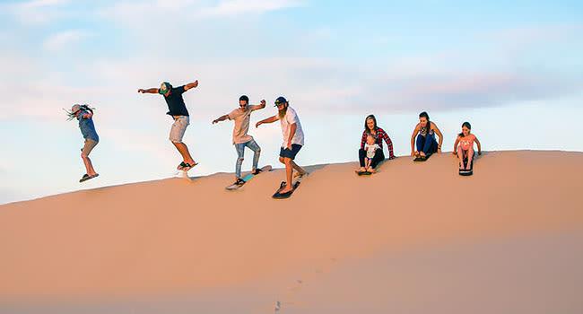 Under $50- Sandboarding, Port Stephens
