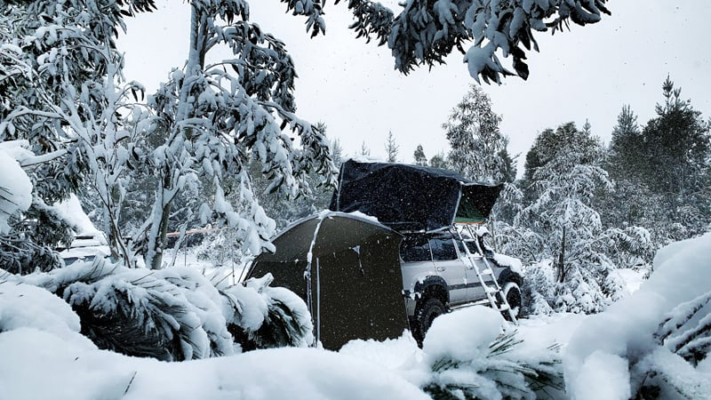 Guided Overnight 4WD Camping Adventure - Blue Mountains