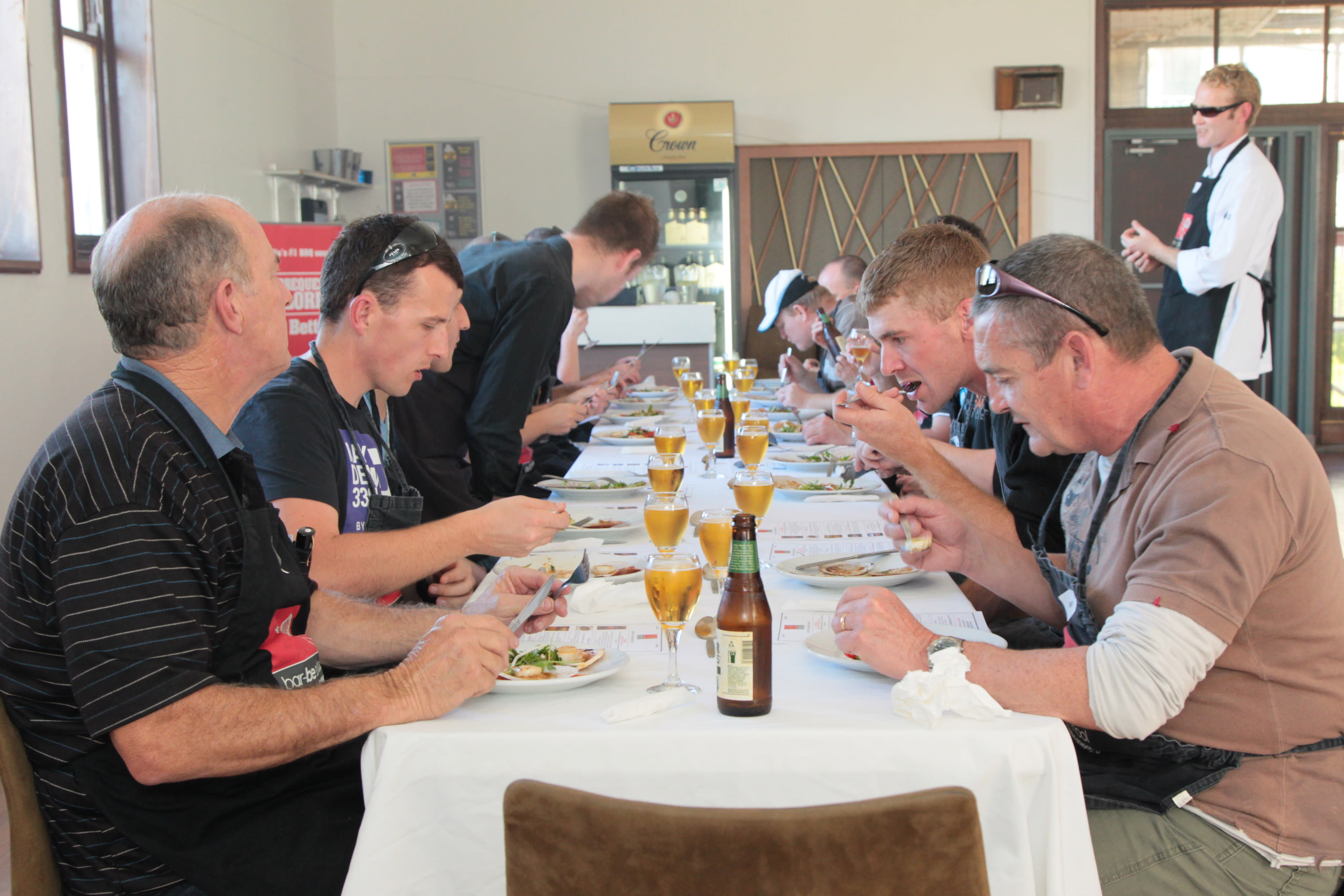 Beer & BBQ Cooking Class - Centennial Park, Sydney