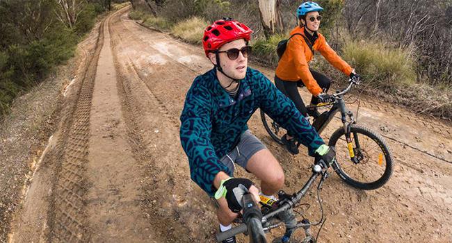 Mountain biking, the Blue Mountains