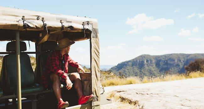 4WD tour, Blue Mountains