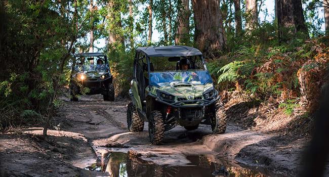 ATV 4x4 tour, Tasmanian National Park