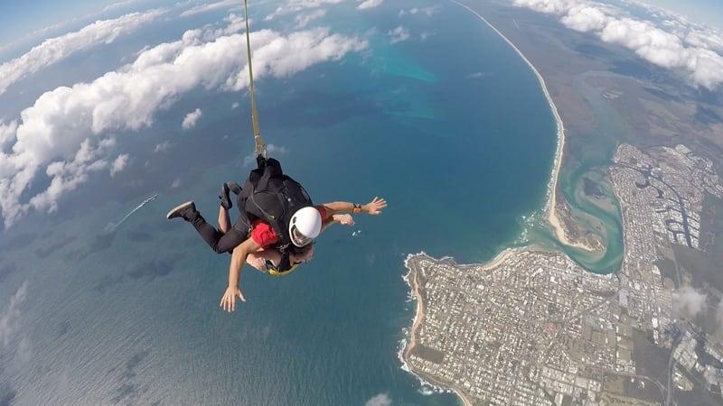 Tandem Skydive up to 14,000ft, Weekend - Caloundra, Sunshine Coast