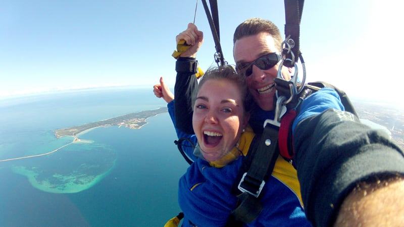 Tandem Skydive Over The Beach, Up to 15,000ft - Rockingham, Perth