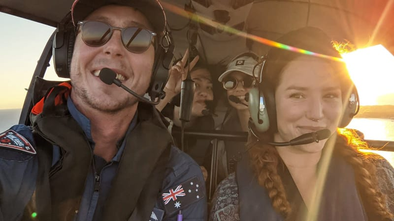 Scenic Helicopter Flight, 15 Minutes - Fremantle