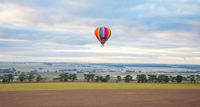 Day 2: Hot air balloon