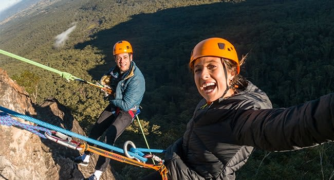 Day 1: Abseiling