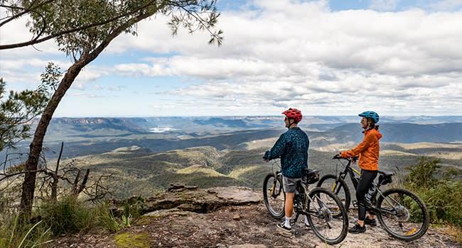 Day 2: Mountain biking