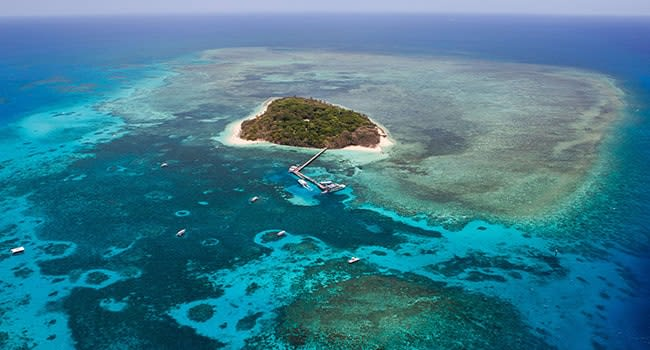 Day 1: scenic flight over the Great Barrier Reef