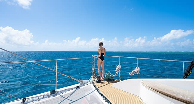 Day 3: Great Barrier Reef sailing tour