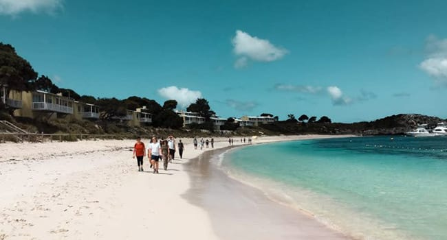 Guided walking tour, Rottnest Island