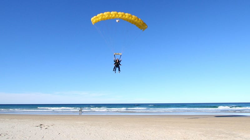 Tandem Skydive Over the Beach, Up To 15,000ft, Midweek Special - Noosa