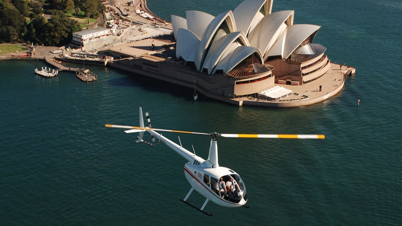 Private Helicopter Flight, 20 Minutes - Sydney - For 2