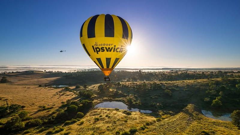 Hot Air Balloon Flight & Breakfast - Brisbane Region