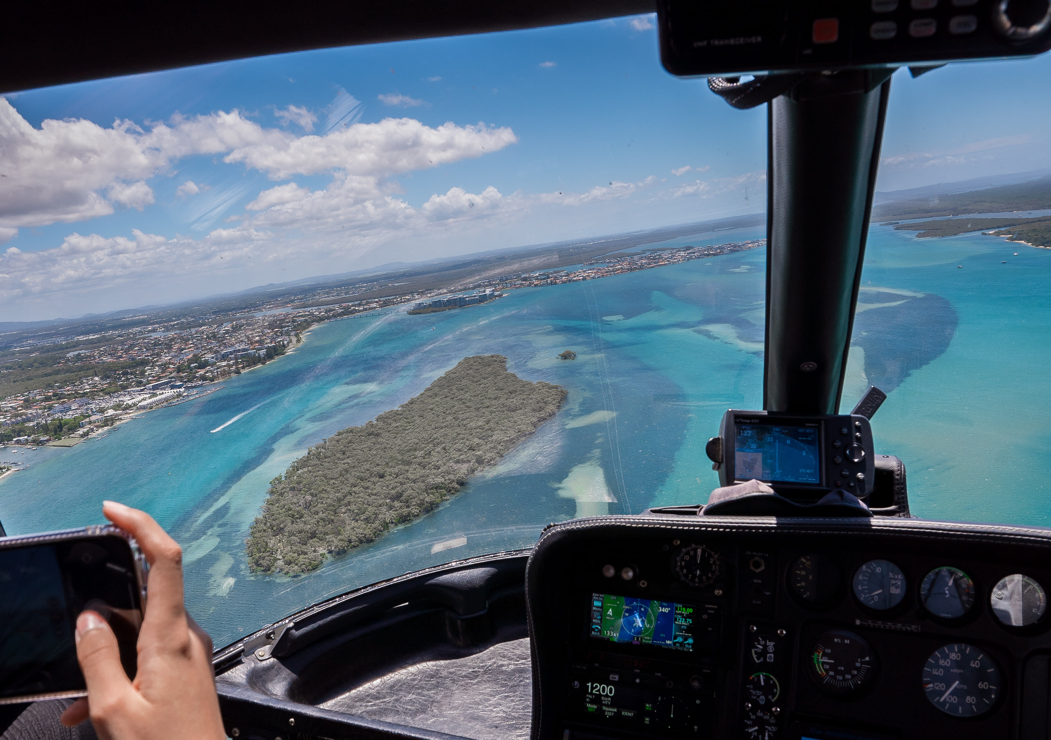 Helicopter Scenic Flight, 5 Minutes - Gold Coast - For 2