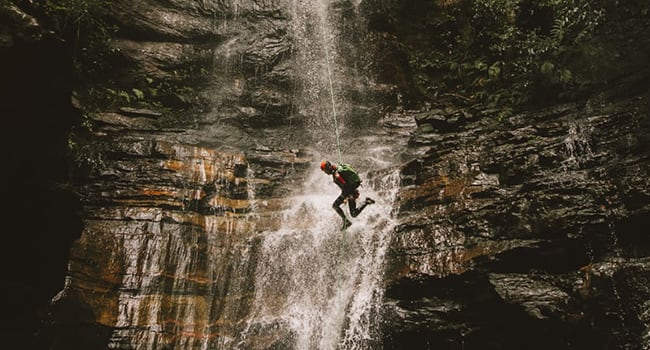 Canyoning, Blue Mountains