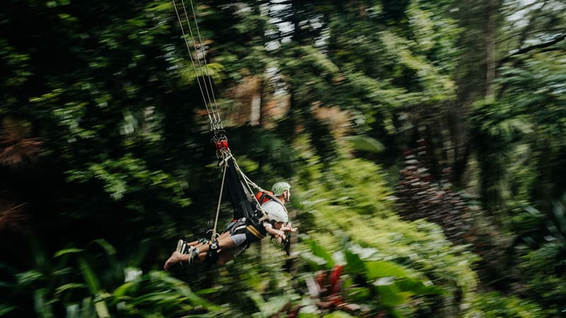 World's Fastest Giant Jungle Swing - Cairns