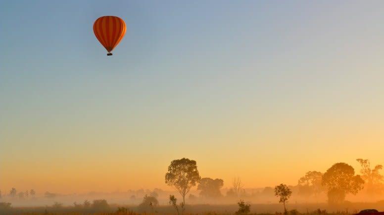 Hot Air Balloon Flight with Breakfast - Gold Coast Hinterland
