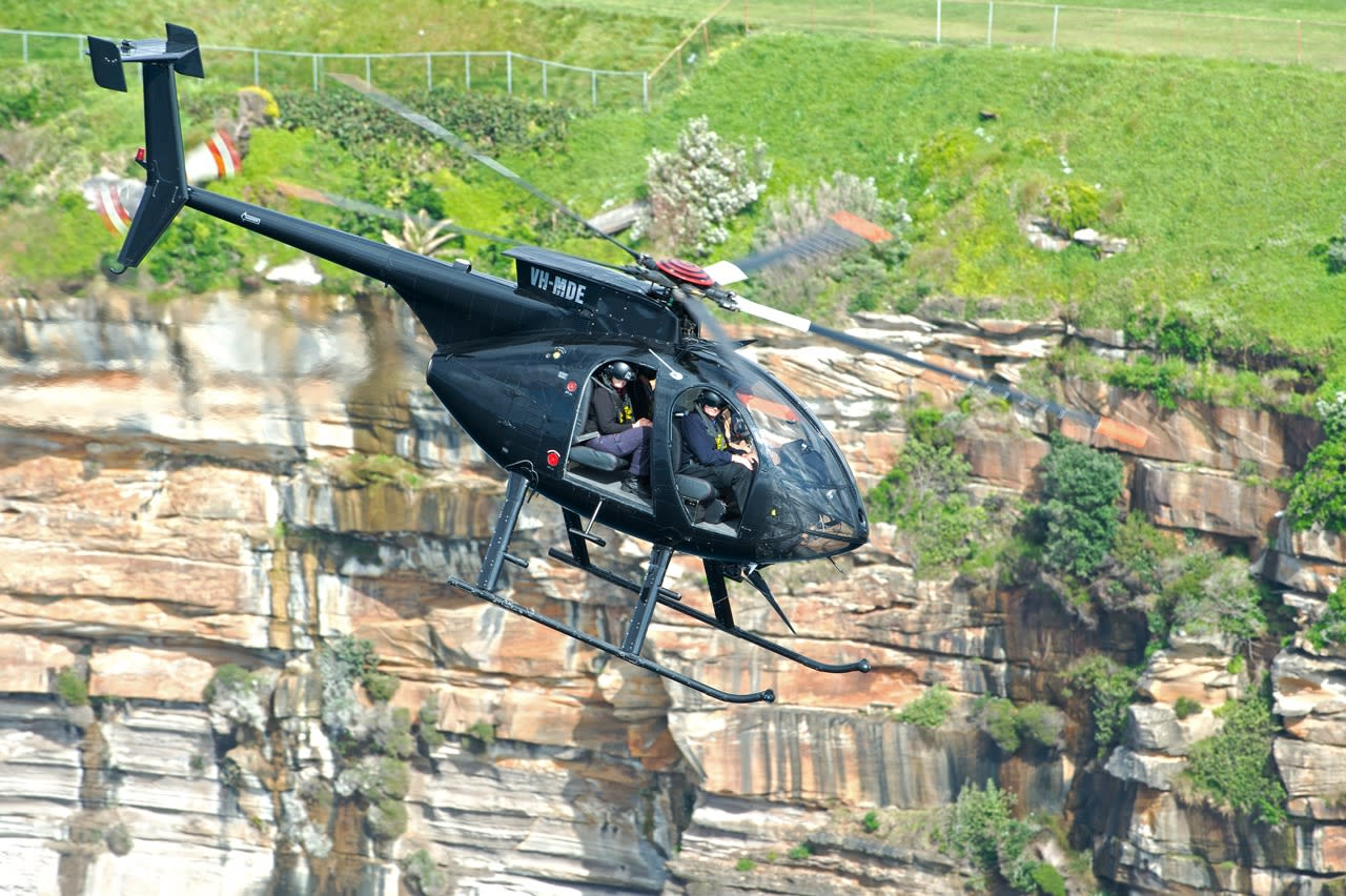 Black Ops Military-Style Helicopter Mission & GoPro Footage - Sydney