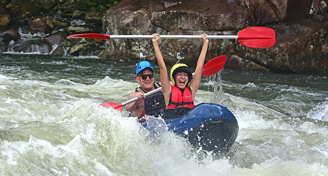 Under $150 - White water rafting, Tully River