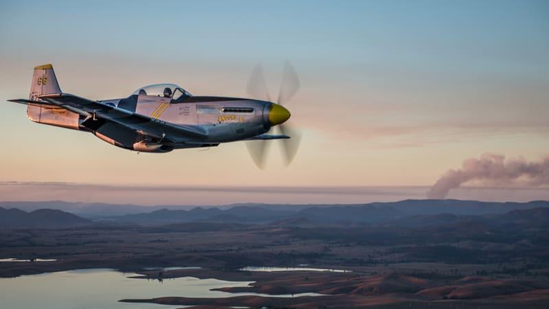 P-51D Mustang Aerobatic Flight, 30 Minutes - Brisbane