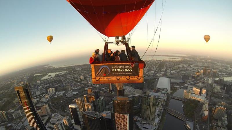 Hot Air Balloon Flight - Melbourne CBD