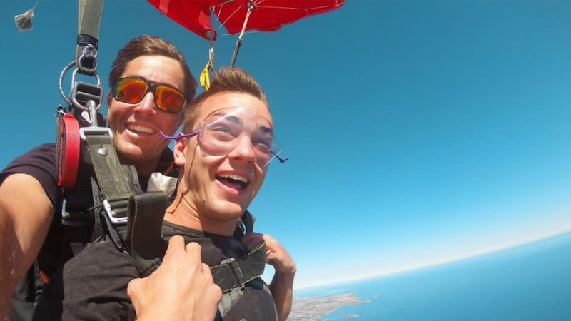 Coastal Tandem Skydive Up to 15,000ft - Goolwa, Adelaide