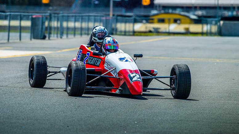 F1 Style Race Car Ride, 4 Hot Laps - Sydney Motorsport Park