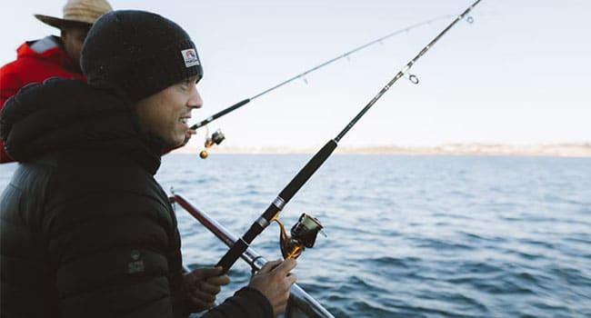 Deep sea fishing, Sydney Harbour