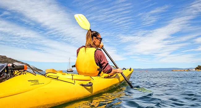 Sea kayaking, Freycinet National Park