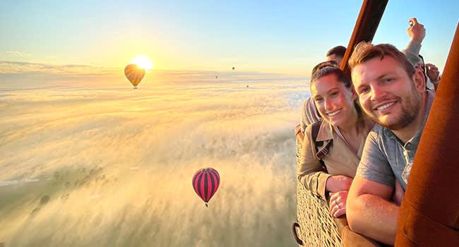 Hot air balloon ride, Hunter Valley