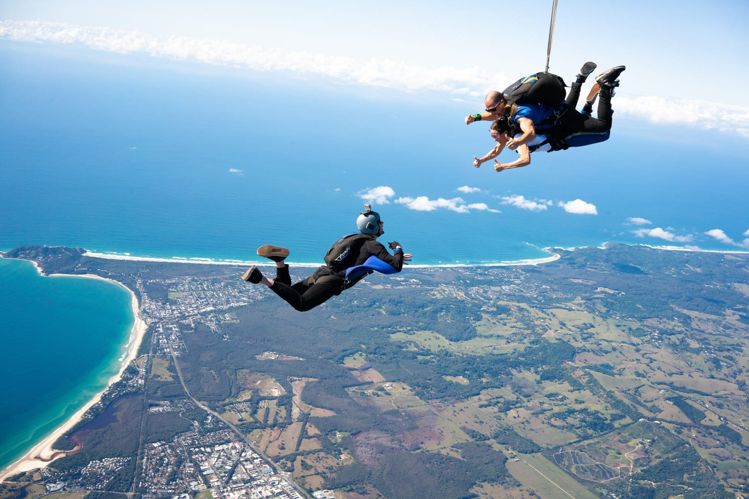 Tandem Skydive Up To 15,000ft - Byron Bay