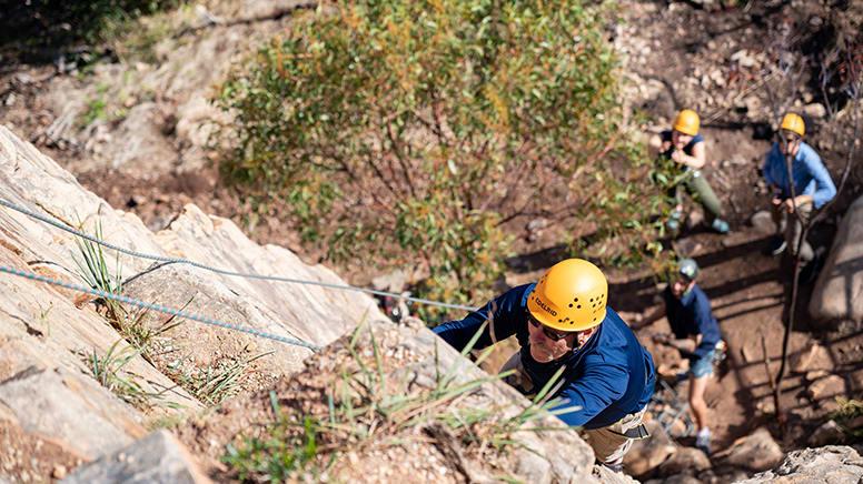 Rock Climbing & Abseiling, 4 Hours – Onkaparinga, Adelaide