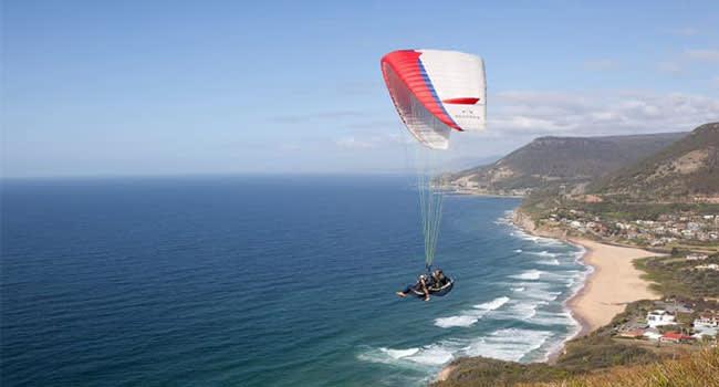 Tandem paragliding, Sydney