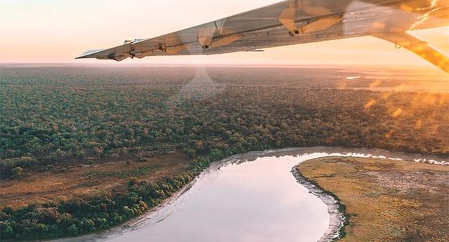Scenic flight, Kakadu National Park