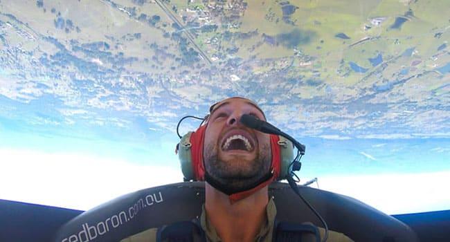 Aerobatics flight, Sydney