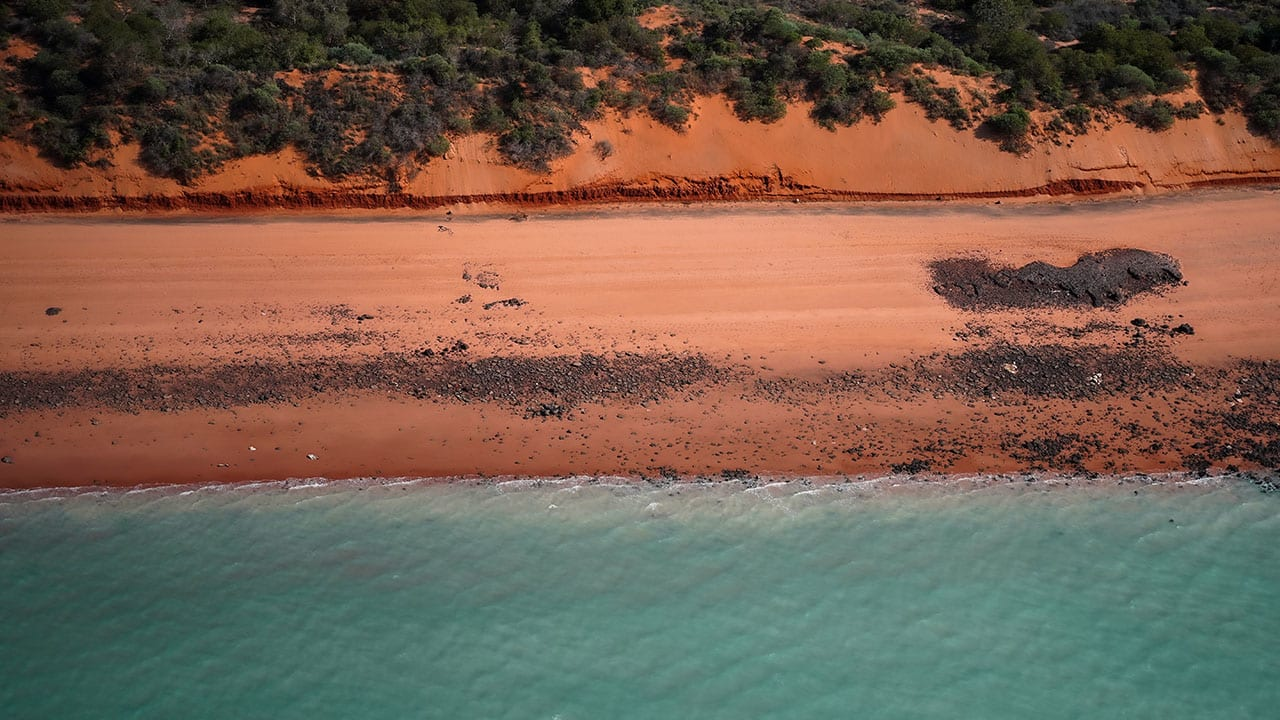 The Adventure Series: helicopter flight over Broome
