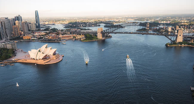 Private helicopter flight for 2, Sydney Harbour