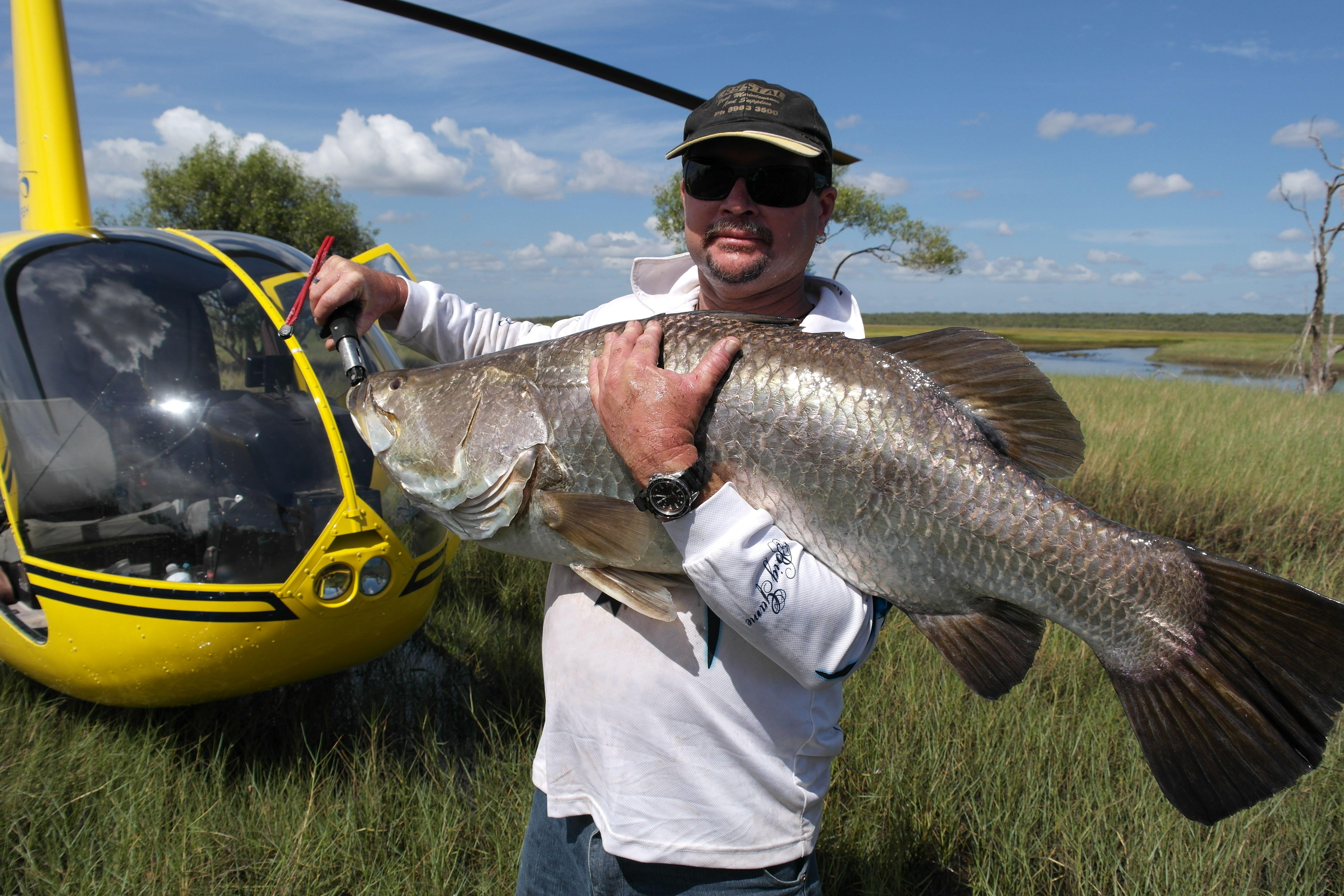 Private Half Day Heli Fishing - Darwin - For 2