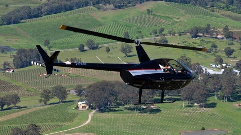 Extreme Doors-Off Helicopter Flight - Hunter Valley - Private For 2