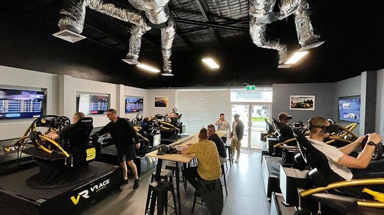 Full Motion Virtual Reality Racing Simulator, 1 Hour - Perth