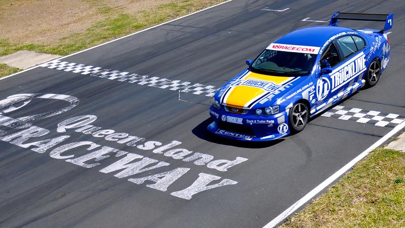 V8 Race Car Ride, 6 Front Seat Hot Laps - Brisbane