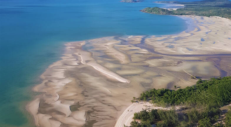 Private Tip of Australia Helicopter Flight, 45 Minutes - Horn Island