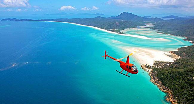 Whitsundays Scenic Flight, Airlie Beach