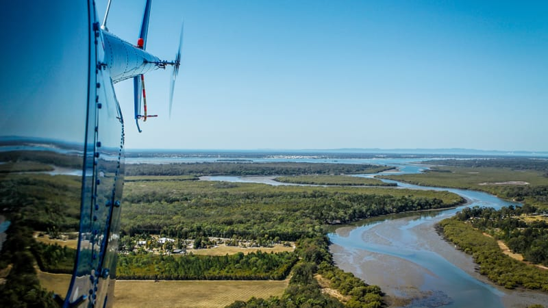 Brisbane City Highlights Helicopter Flight, 10 Minutes - For 2