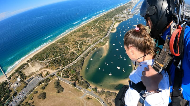 Tandem Helicopter Skydive, up to 10,000ft - Surfers Paradise