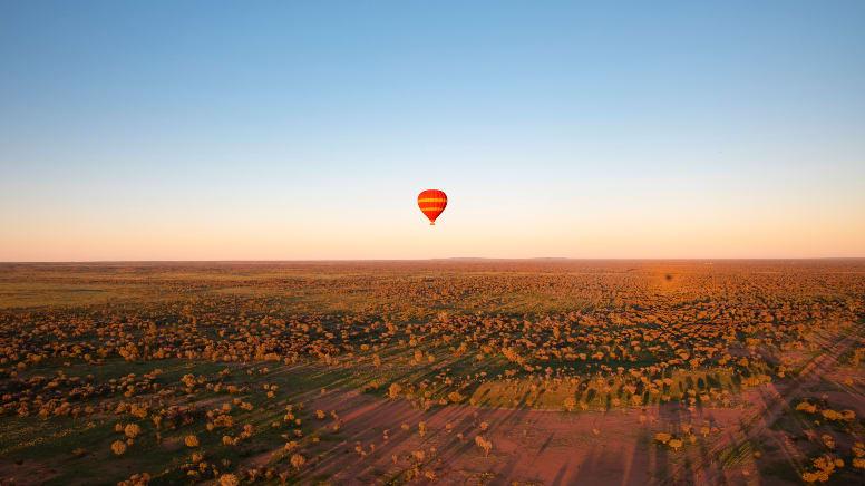 Hot Air Ballooning, 30 Minute Flight - Alice Springs