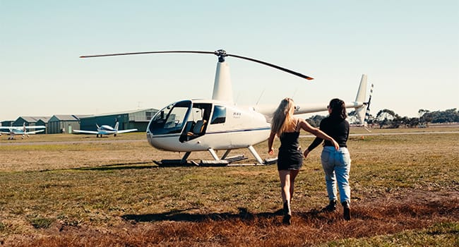 Helicopter Scenic Flight, Barwon Heads